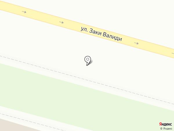 РОСКЛАСТЕР на карте Уфы