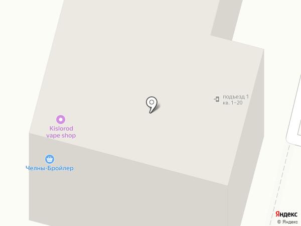 Рощинский на карте Уфы