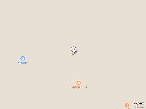 Burger King на карте Уфы