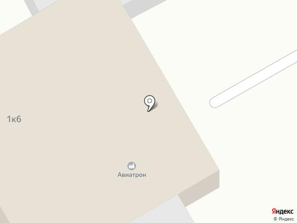 Авиатрон на карте Уфы