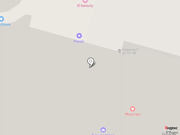 Абба на карте Уфы