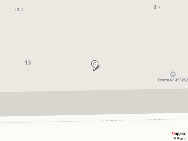 Почтовое отделение №2 на карте Салавата