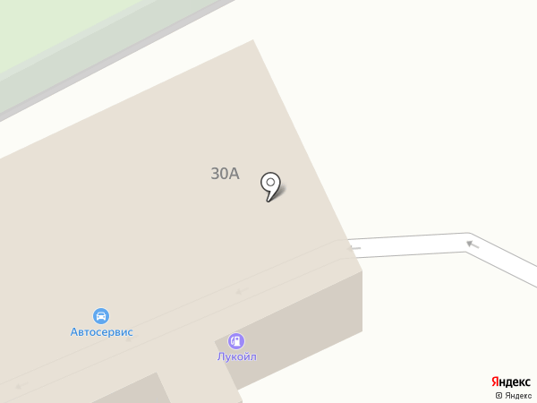 Автокомплекс на карте Стерлитамака