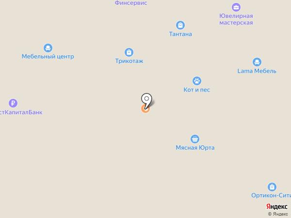 ГазНефтьТехно, АНО на карте Салавата