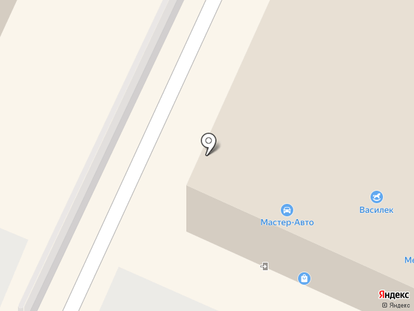 Мастер-Авто на карте Стерлитамака