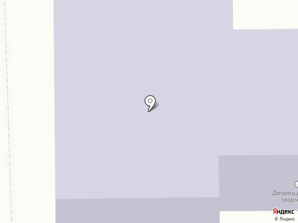 Дворец детского и юношеского творчества на карте Салавата