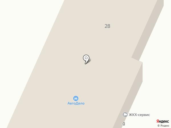 Автодело на карте Стерлитамака