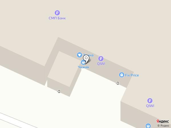 Форте на карте Стерлитамака