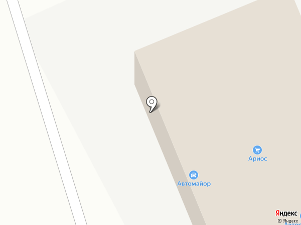 Магазин автозапчастей для иномарок на карте Стерлитамака