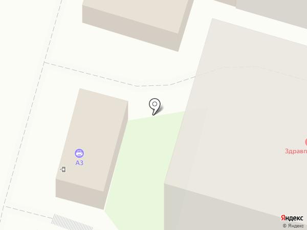 Универ на карте Уфы