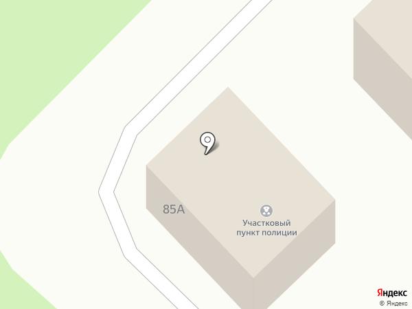 Участковый пункт полиции на карте Култаево