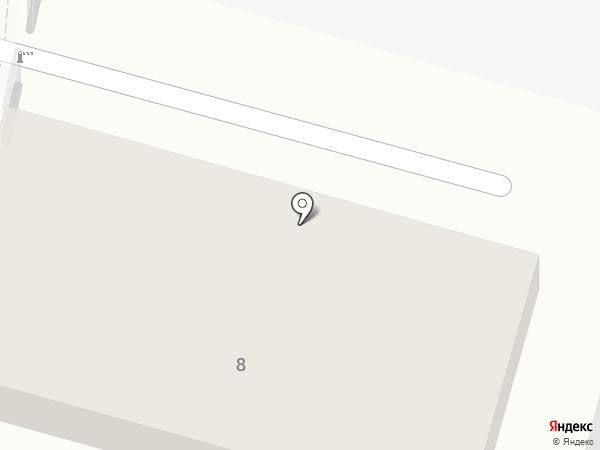 Аксакова на карте Уфы
