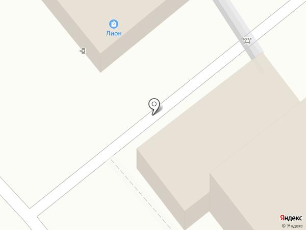 Сеть продуктовых магазинов на карте Перми