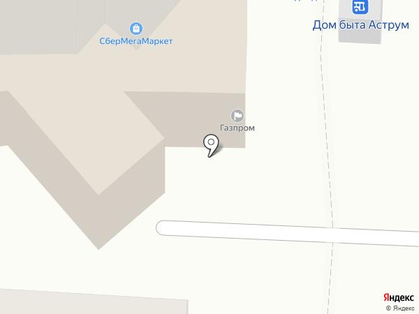 Платежный терминал, Газпромбанк на карте Салавата