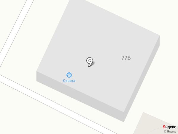 Сеть магазинов на карте Стерлитамака