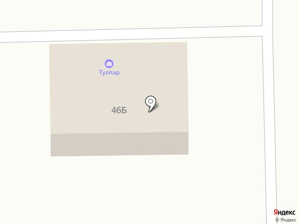 Эдем на карте Салавата