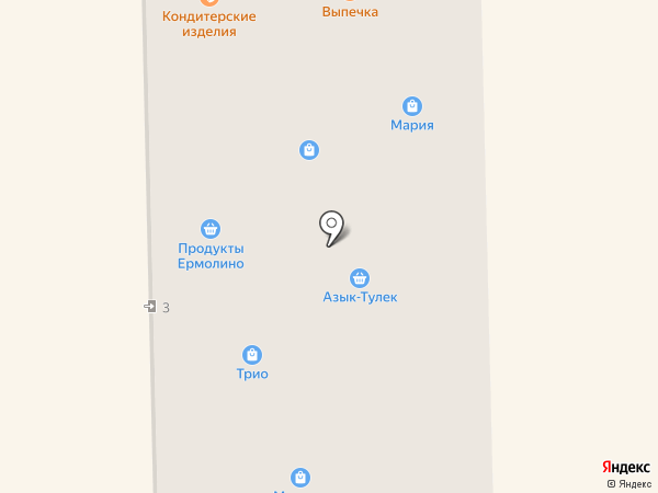 Магазин текстиля и постельных принадлежностей на карте Салавата