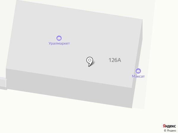 Максат на карте Стерлитамака