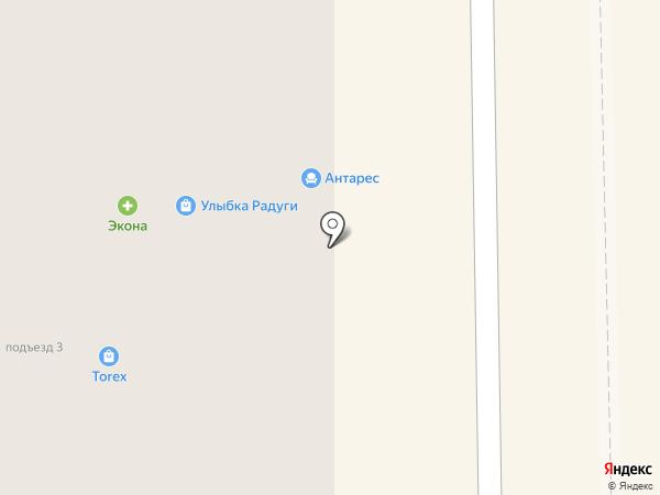 Антарес на карте Салавата