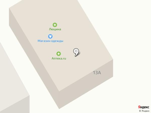 Люцина на карте Чесноковки