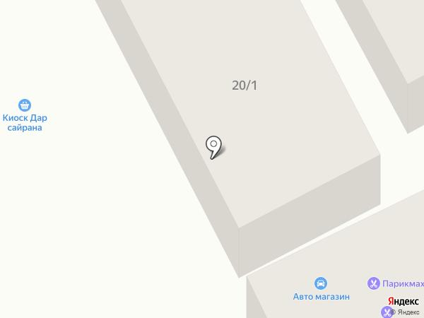 Автосервис у Гарика на карте Чесноковки