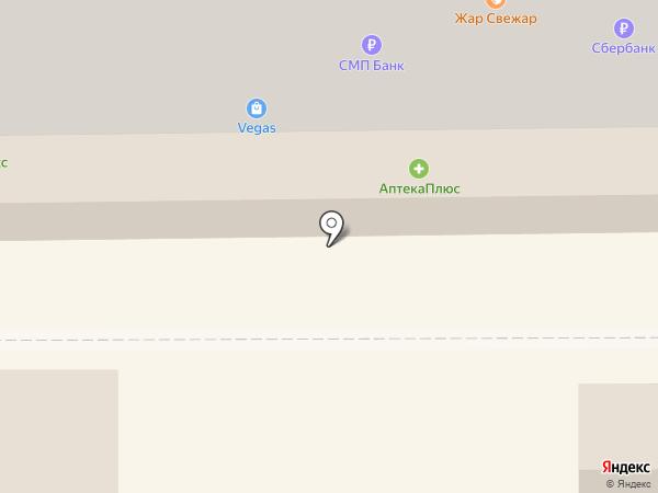 Экона на карте Салавата
