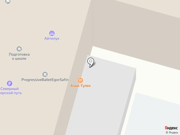 Азык-Тулек на карте Уфы