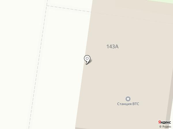 Станция ВТС на карте Стерлитамака