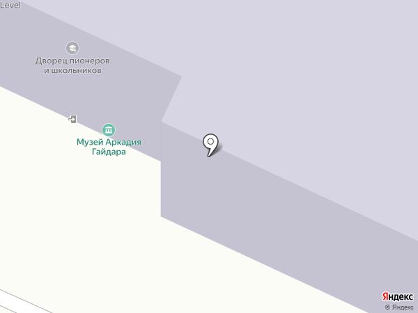 Дворец пионеров и школьников им. А.П. Гайдара на карте Стерлитамака