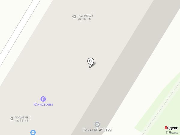 Почтовое отделение №129 на карте Стерлитамака