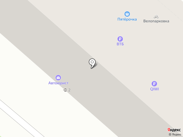 Русден на карте Перми
