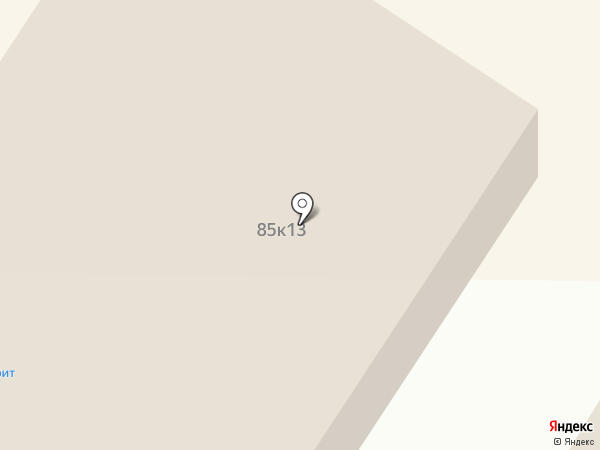 Переулок Молочный на карте Стерлитамака