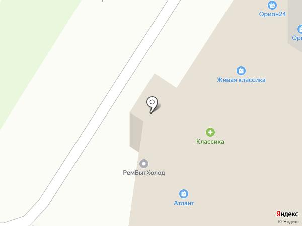 Абия на карте Стерлитамака