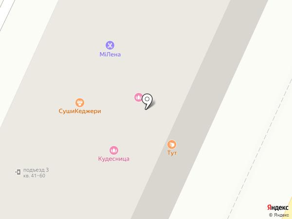 KRASNOE на карте Стерлитамака