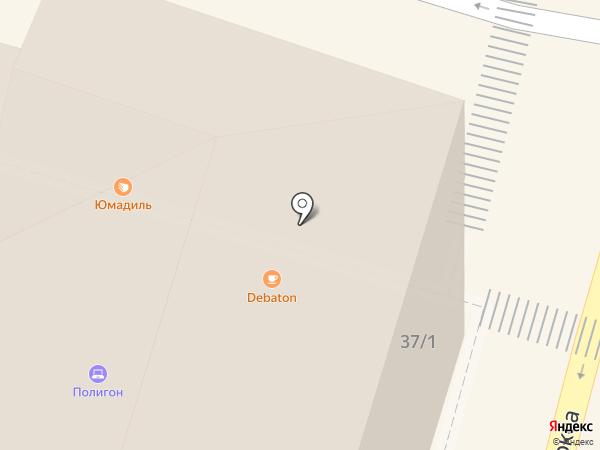Странотека на карте Уфы