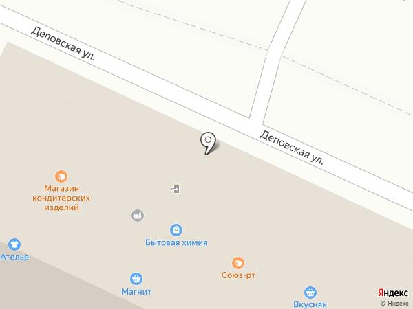 Союз-РТ на карте Стерлитамака