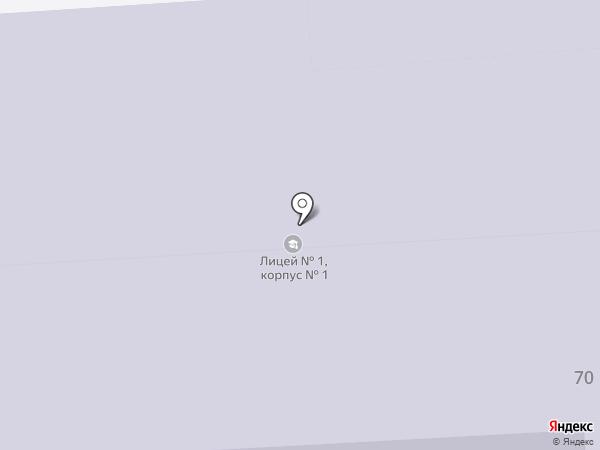 Лицей №1 на карте Салавата