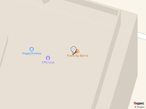Нестеров на карте Уфы