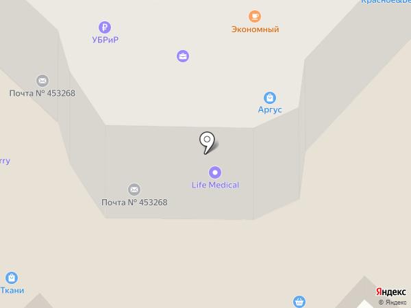 Д. М. на карте Салавата