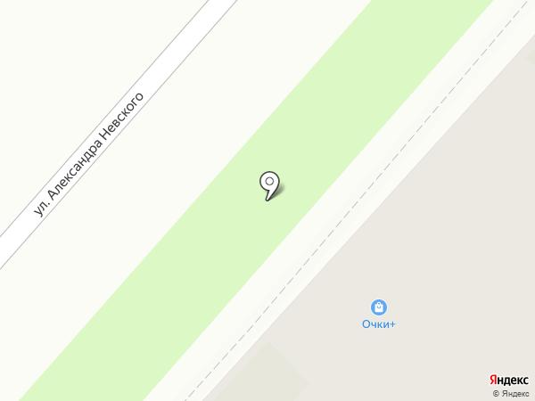 Очки+ на карте Перми