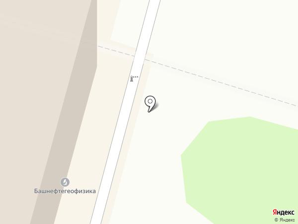 Анега-холдинг на карте Уфы