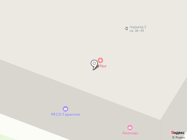 Бочка на карте Уфы