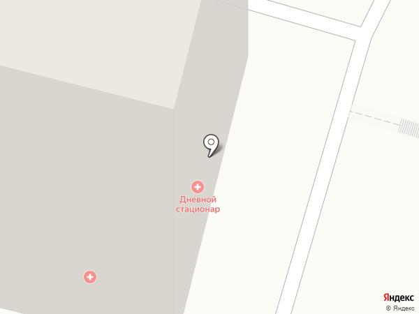 Городская поликлиника №44 на карте Уфы