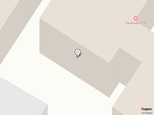 Решение-СТР на карте Стерлитамака