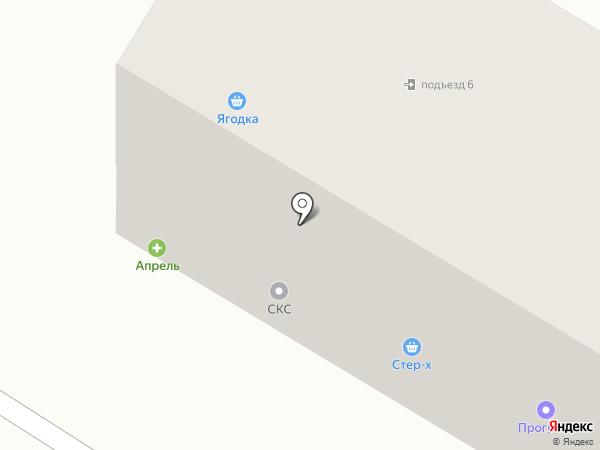 Хлебный на карте Стерлитамака