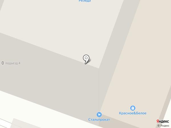 Должиков Р.Е. на карте Стерлитамака