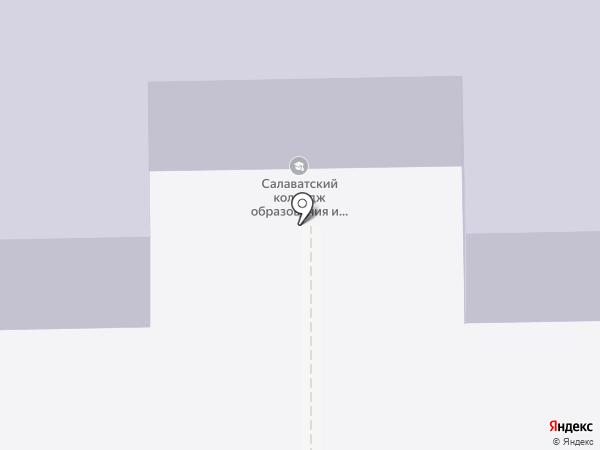 Парикмахерская-мастерская на карте Салавата