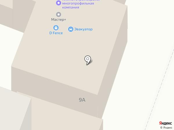 Техносервис на карте Стерлитамака