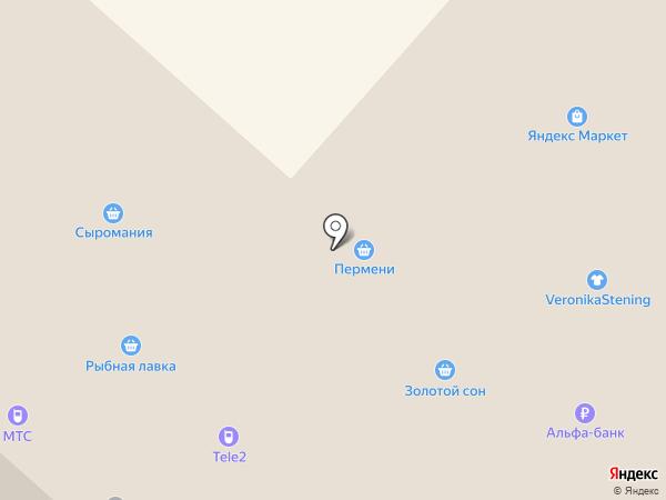 Кудесница на карте Перми