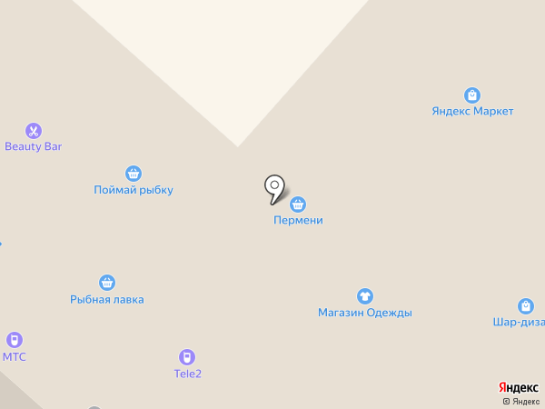 Банкомат, Промсвязьбанк на карте Перми